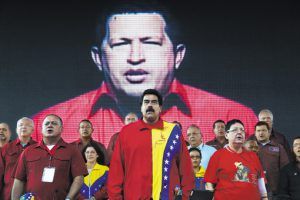 Americas Quarterly - Winter 2015 - Nicolas Maduro and Hugo Chavez