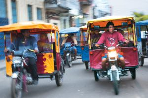 Mototaxis in Iquitos