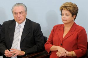 Dilma Rousseff and Michel Temer