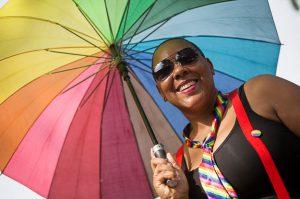 Pride parade DR